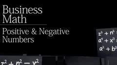 Basics: Positive and Negative Numbers thumbnail